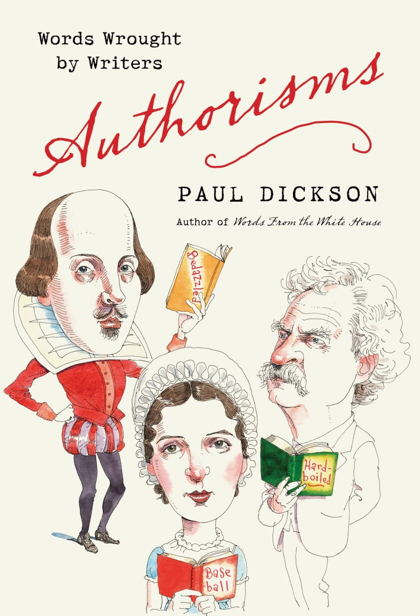"""The cover of """"Authorisms: Words Wrought by Writers."""""""