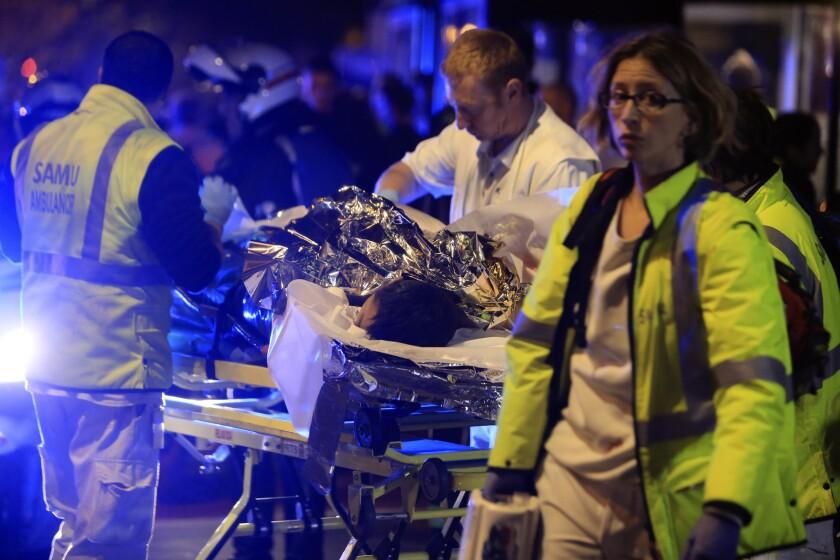 Doctors recount the Paris terror attacks: 'This is the civil application of war medicine'