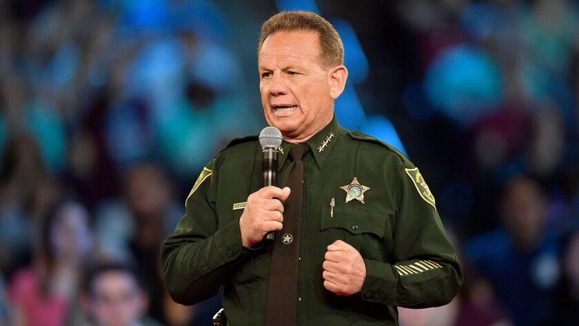 Republicans urge Florida governor to suspend Broward sheriff