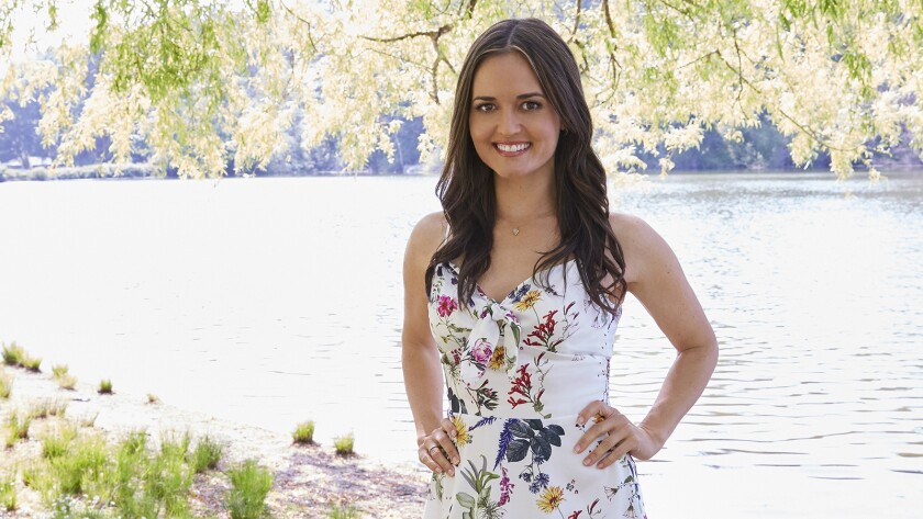 "Danica McKellar in ""Love and Sunshine"" on Hallmark."