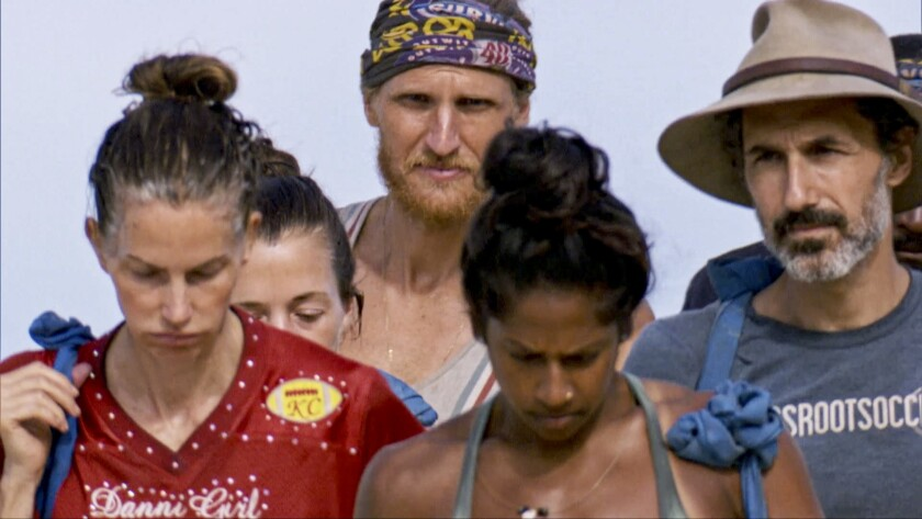 """The season finale of """"Survivor"""" ranked second in the week's ratings."""