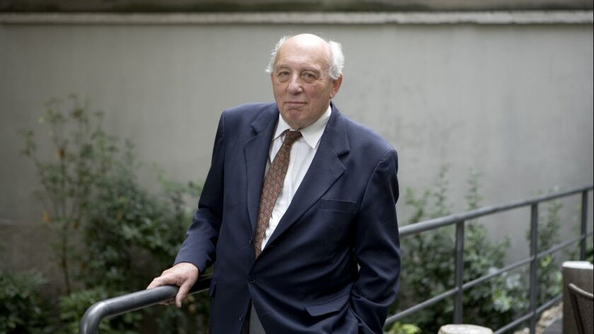 John Lukacs, a Hungarian-born American historian, is pictured in Mantova, Italy, in 2006.