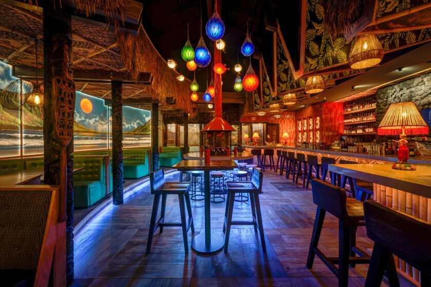 The Grass Skirt tiki bar