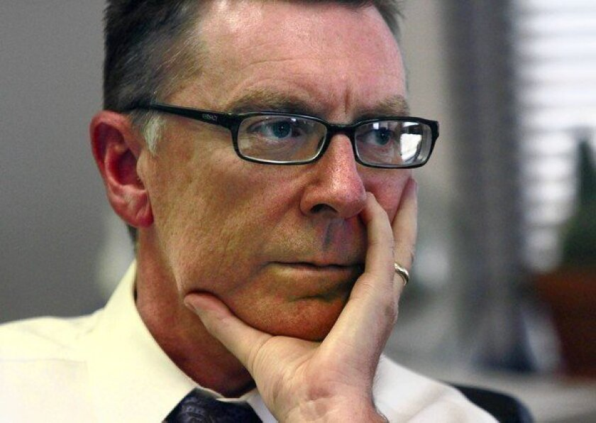 """""""It would be so devastatingly disappointing to this district if UTLA was not a partner with us"""" on the application for Race to the Top funds, L.A. Unified Supt. John Deasy said."""