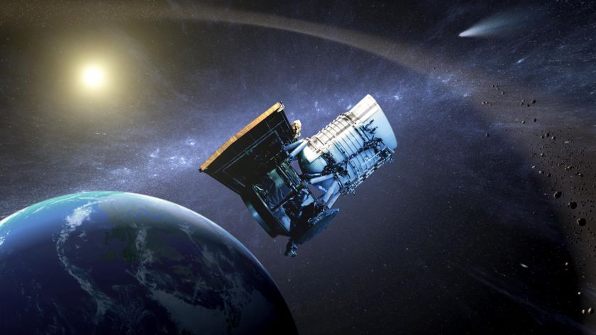 NASA's NEOWISE space telescope