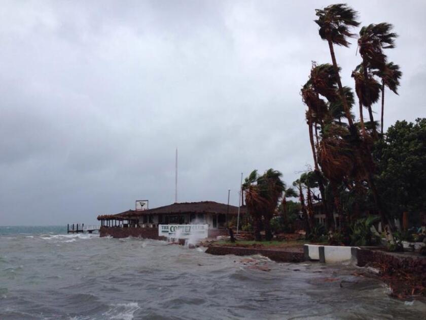 Vista general de los estragos provocados por el paso de la tormenta tropical Erick en Baja California Sur (México). EFE/Elizabeth Moreno/Archivo