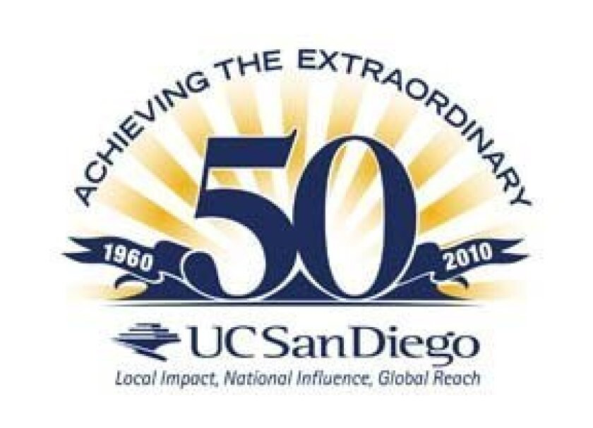 From September 2010 to June 2011 UC San Diego celebrates its 50th anniversary. Image: UCSD