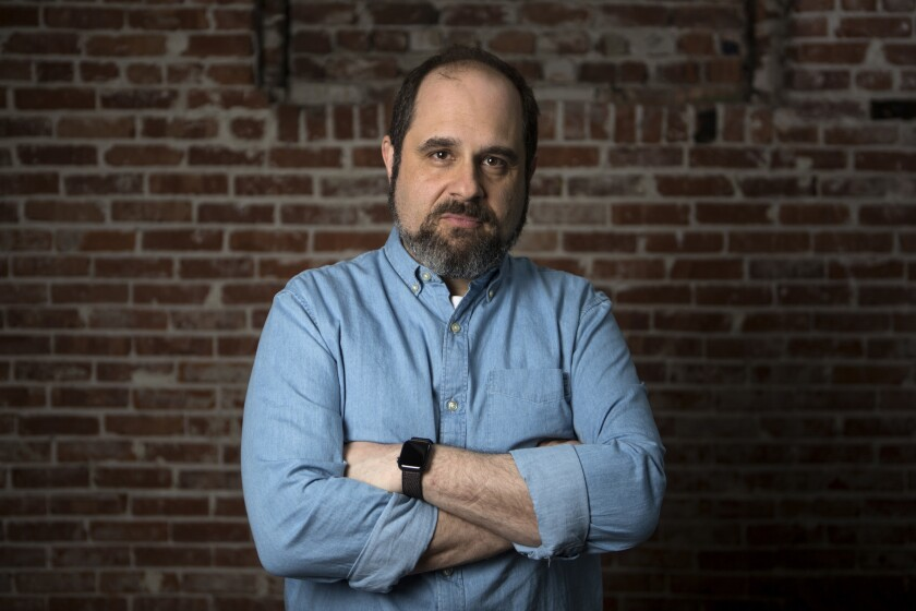 PASADENA,CA - APRIL 30, 2019: Craig Mazin, creator and writer of HBO's new mini series, Chernobyl, i