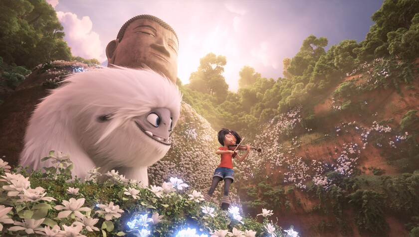 With 'Abominable,' Shanghai's Pearl Studio and DreamWorks Animation aim for audiences in China and beyond