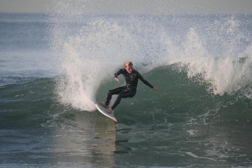 Surfer Ethan Hurst Saves Woman From Drowning Off Huntington