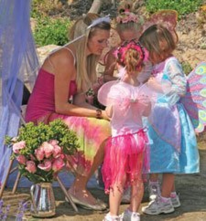 The Fairy Festival is June 22 at the San Diego Botanic garden.