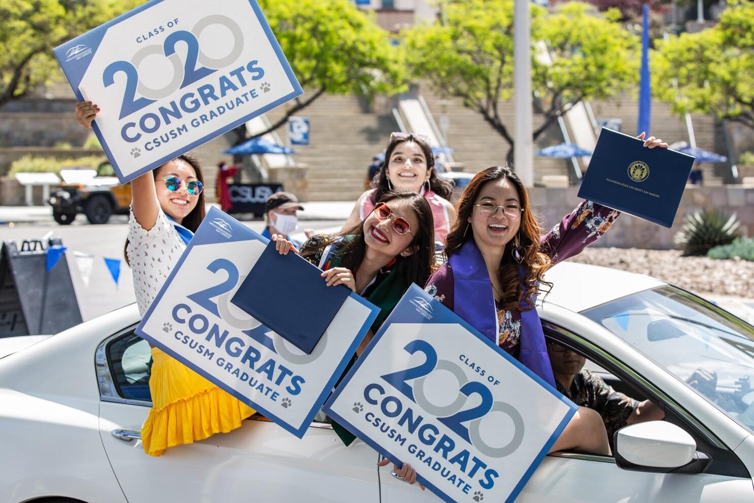 CSUSM 2020 Graduation