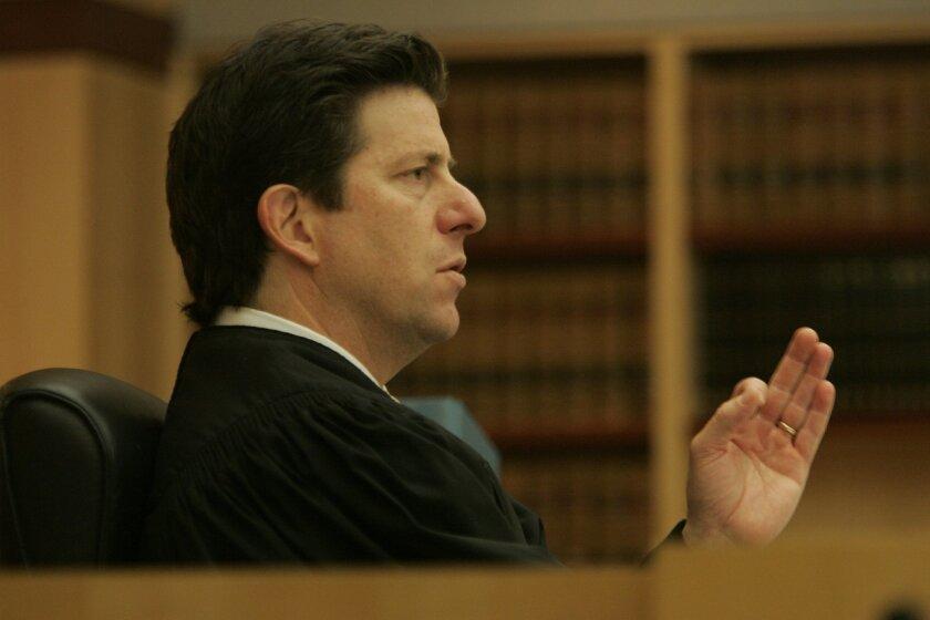 San Diego Superior Court Judge Dan Goldstein. (2007 file photo / Union-Tribune)