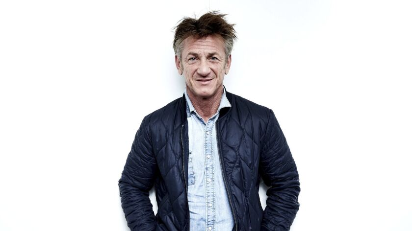 """Sean Penn will be in town this week to discuss his debut book, """"Bob Honey Who Just Do Stuff."""""""