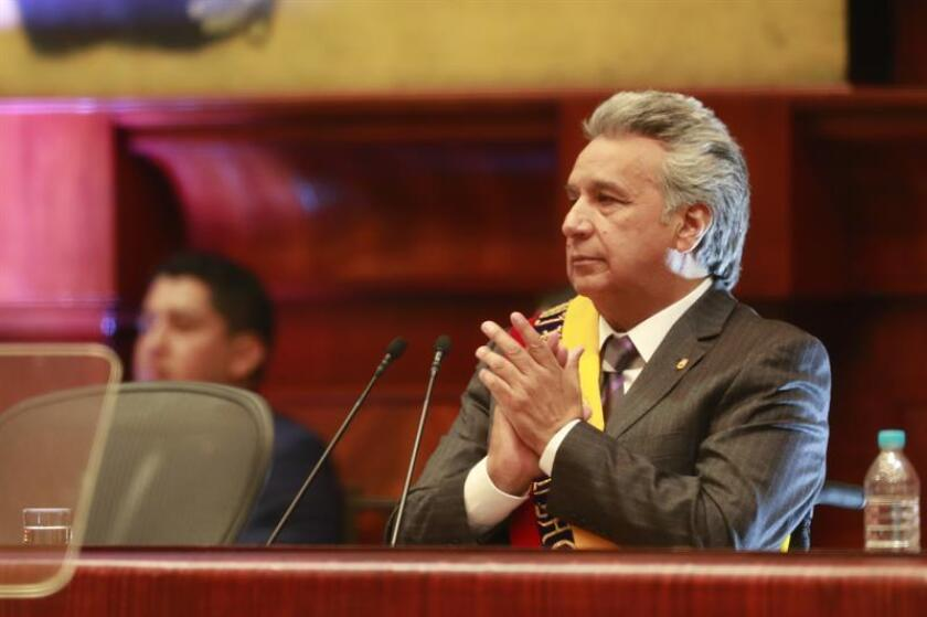 El presidente de Ecuador, Lenín Moreno. EFE/Archivo