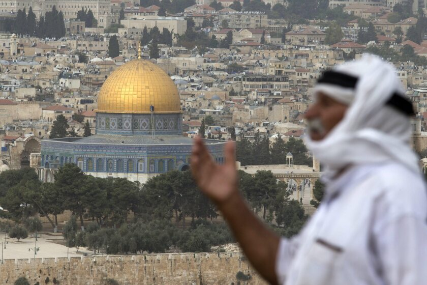 Tension around the holy site in Jerusalem