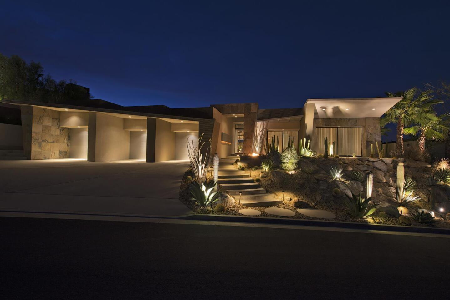 Home of the Day: Modern and masculine in Rancho Mirage
