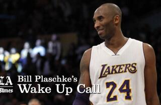 Bill Plaschke's Wakeup Call: Relax and let Kobe Bryant enjoy his last games
