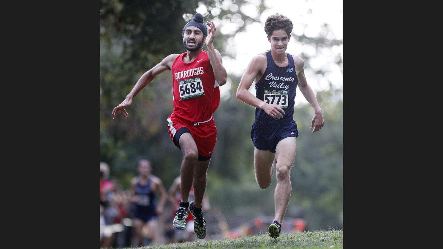 Photo Gallery: Pacific League boys' cross country finals at County Park in Arcadia
