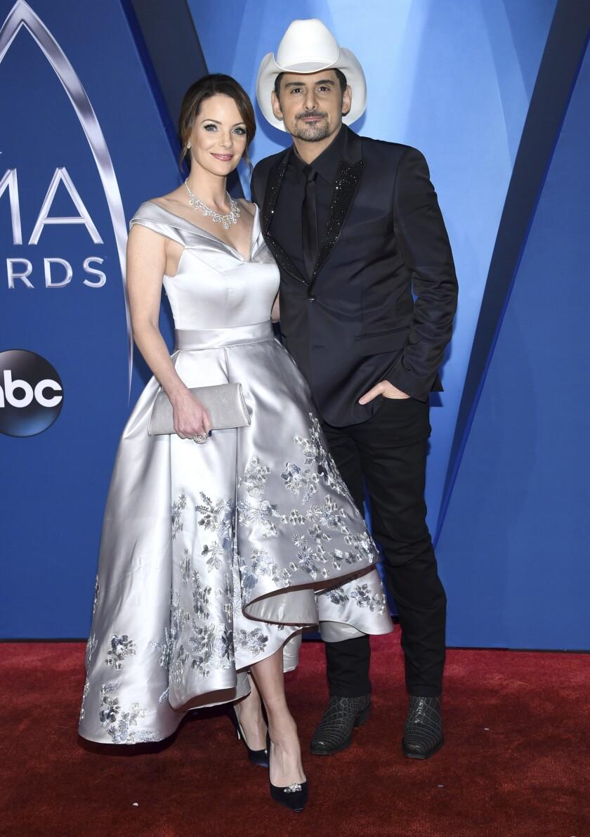 El cantante Brad Paisley y su esposa, la actriz Kimberly Williams-Paisley