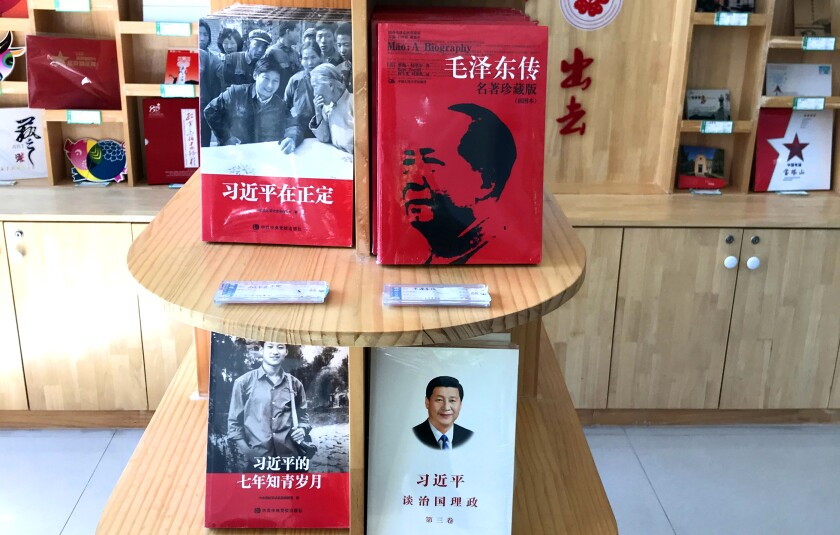 Xi Jinping volumes