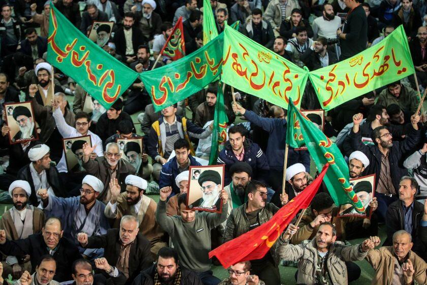 Iranian pro-government demonstration