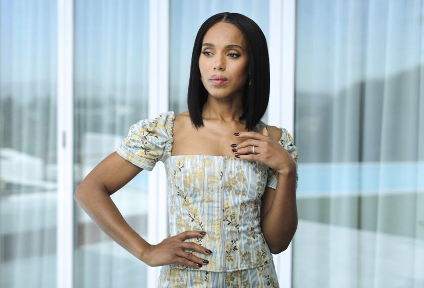 """Kerry Washington's future projects include the Hulu limited series """"Little Fires Everywhere"""" opposite Reese Witherspoon."""