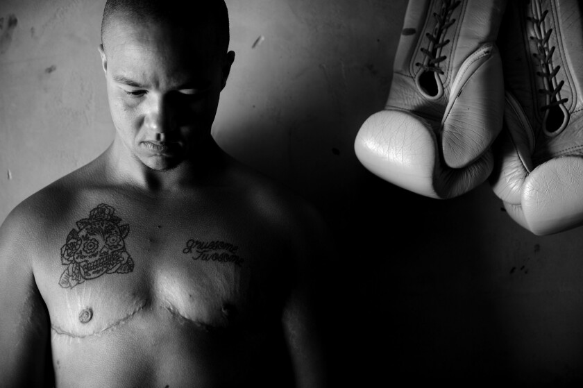 When Pat Manuel stepped into the boxing ring at the South El Monte Community Center last spring, the