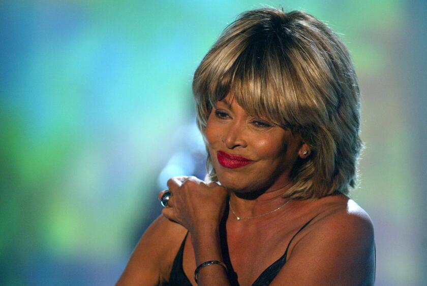 In this Sunday, Feb. 15, 2009, file photo, U.S. singer Tina Turner performs