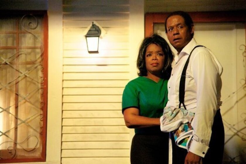 "Oprah Winfrey and Forest Whitaker in Weinstein Co.'s ""The Butler."""
