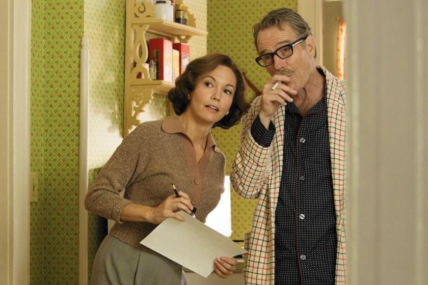 "Diane Lane as Cleo Trumbo and Bryan Cranston as Dalton Trumbo in ""Trumbo"""