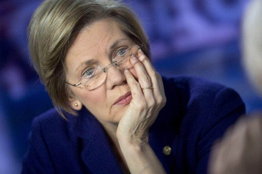 Sen. Elizabeth Warren (D-Mass.) is the scourge of the bogus Wall Street settlement.