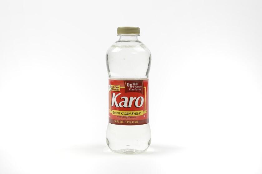 Karo brand light corn syrup