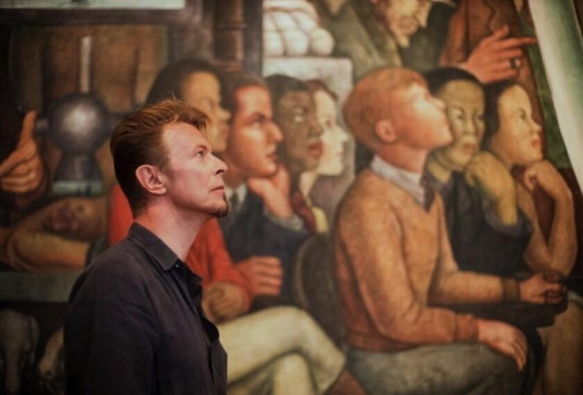 Esta es una muestra de fotografías que le fueron tomadas a David Bowie durante la vista que el célebre artista hizo a México, en 1997.