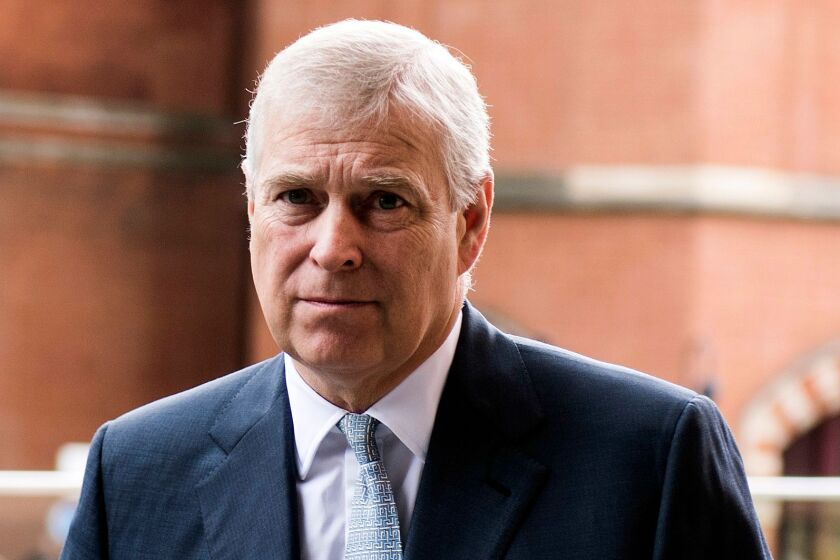 Prince Andrew, shown in 2017, has provided 'zero cooperation' in probe, prosecutor says.