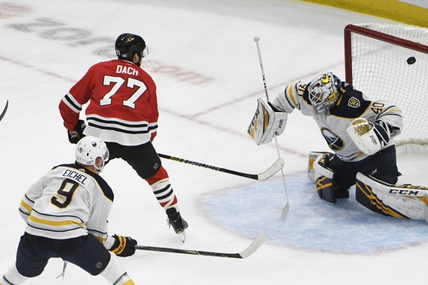 Sabres Blackhawks Hockey