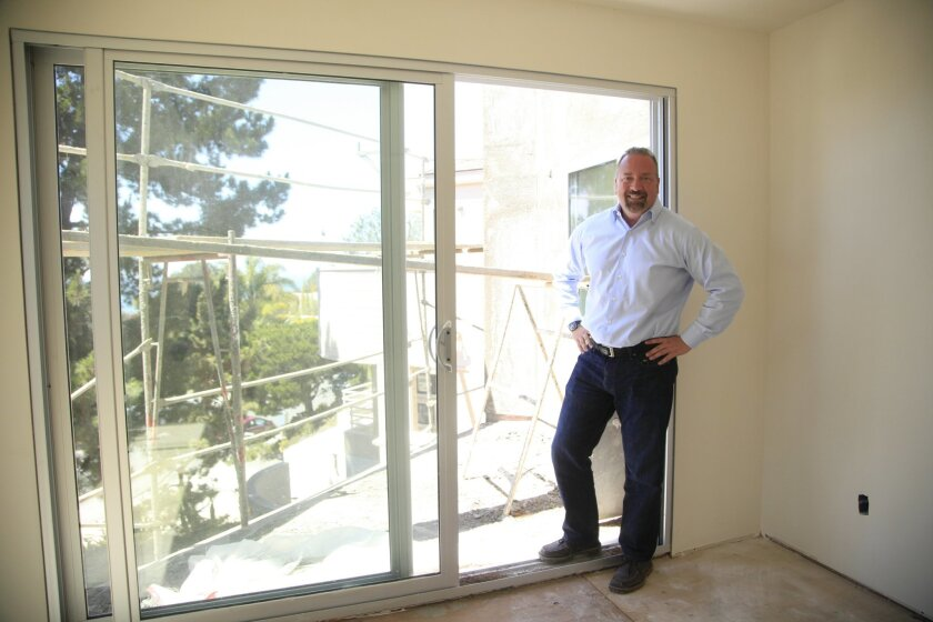 Anthony Nanula is the regional manager in San Diego for American Coastal Properties, a company that buys high end homes, renovates them and sells them.