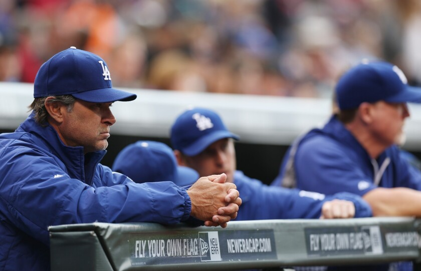 Don Mattingly and some of his players have gotten into arguments over the course of the past few weeks but the Dodgers manager says that's just part of being a family.