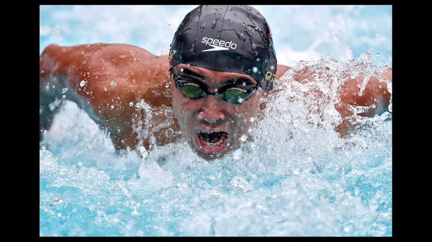 Photo Gallery: Local swimmers in CIF SS Div 2 championships