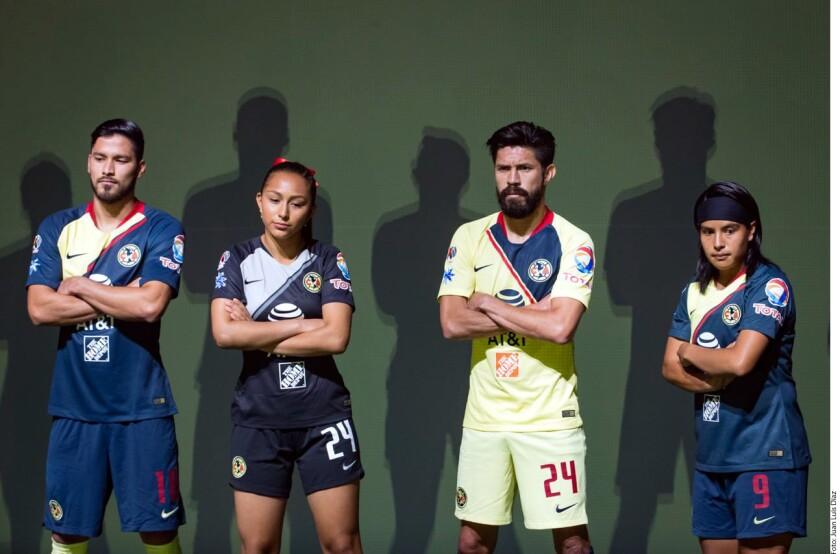Estos son los uniformes del América para la temporada 2018-19