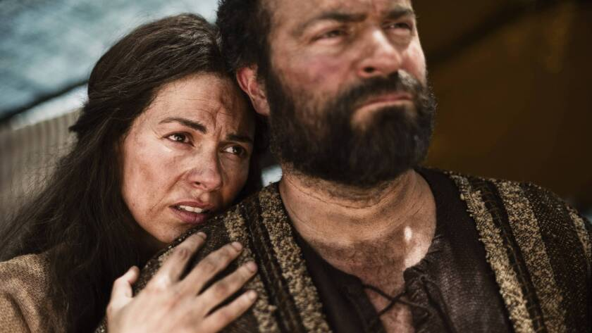 """The History Channel's 10-hour miniseries, """"The Bible,"""" which was just nominated for an Emmy, is being distilled into a movie of less than three hours."""