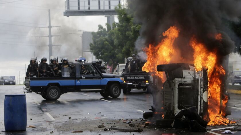 NICARAGUA-UNREST-OPPOSITION-PROTEST