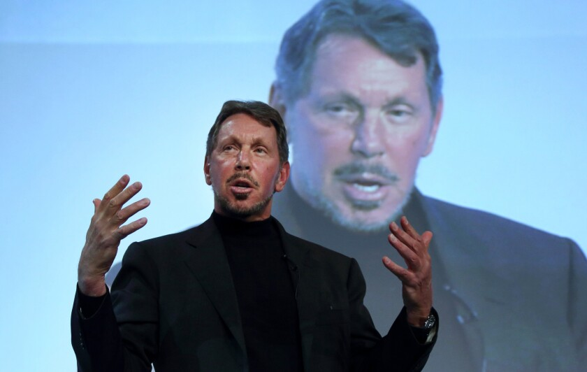 Oracle Corp. CEO Larry Ellison