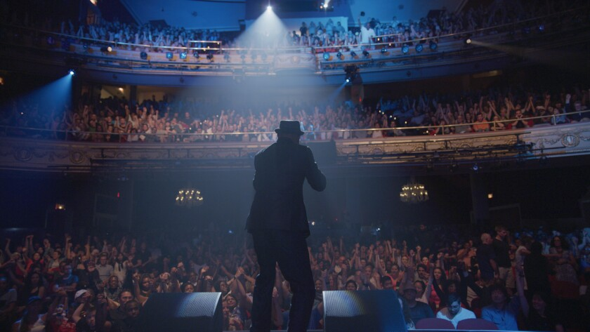 Joe Gray at the Apollo Theater in Harlem, from the documentary 'The Apollo'