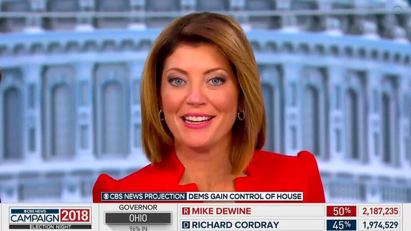 Norah O'Donnell will anchor 'CBS Evening News' as new boss