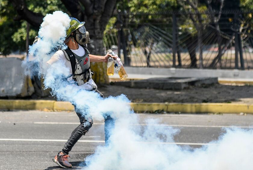 VENEZUELA-CRISIS-OPPOSITION-MAY DAY