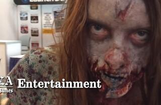 Sneak peek at 'Walking Dead's' San Diego Comic-Con booth