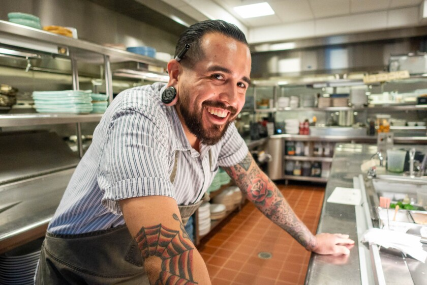 Serea executive chef Jojo Ruiz.