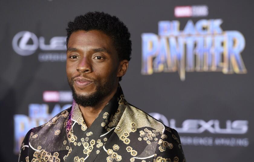 """Black Panther"" star Chadwick Boseman"