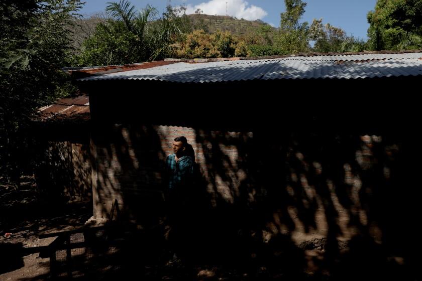 Erlinton Flores Ortiz is in hiding in Nicaragua.